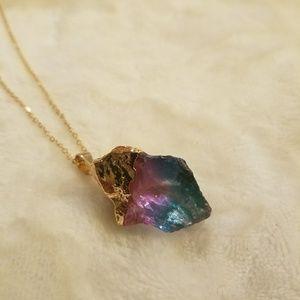 Jewelry - 🖤Rock Chunk Necklace